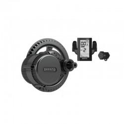 Bafang Bbs02b 36v 500w 8fun Mid Drive Motor,conversion Retrofitting Ebike Kit With 850c Lcd Display