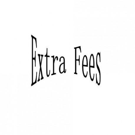 extra fees